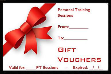 Purchase pt gift cards rene olmos personal training for Personal trainer gift certificate template